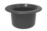 Color Match RPTC-05 Retrofit Pebble Top Pole Holder Cap and Plug - Dark Gray