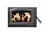 Buck Stove Pewter Door for Model 21ZC Fire Unit