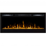 Regal Flame LW2035CC Lexington 35in Wall Mounted Electric Fireplace - Crystal