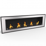 Regal Flame ER8017 Cynergy 72in Ventless Bio Ethanol Wall Mounted Fireplace