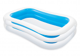 Intex Swim Center Family Inflatable Pool, 103x69x22, for Ages 6+
