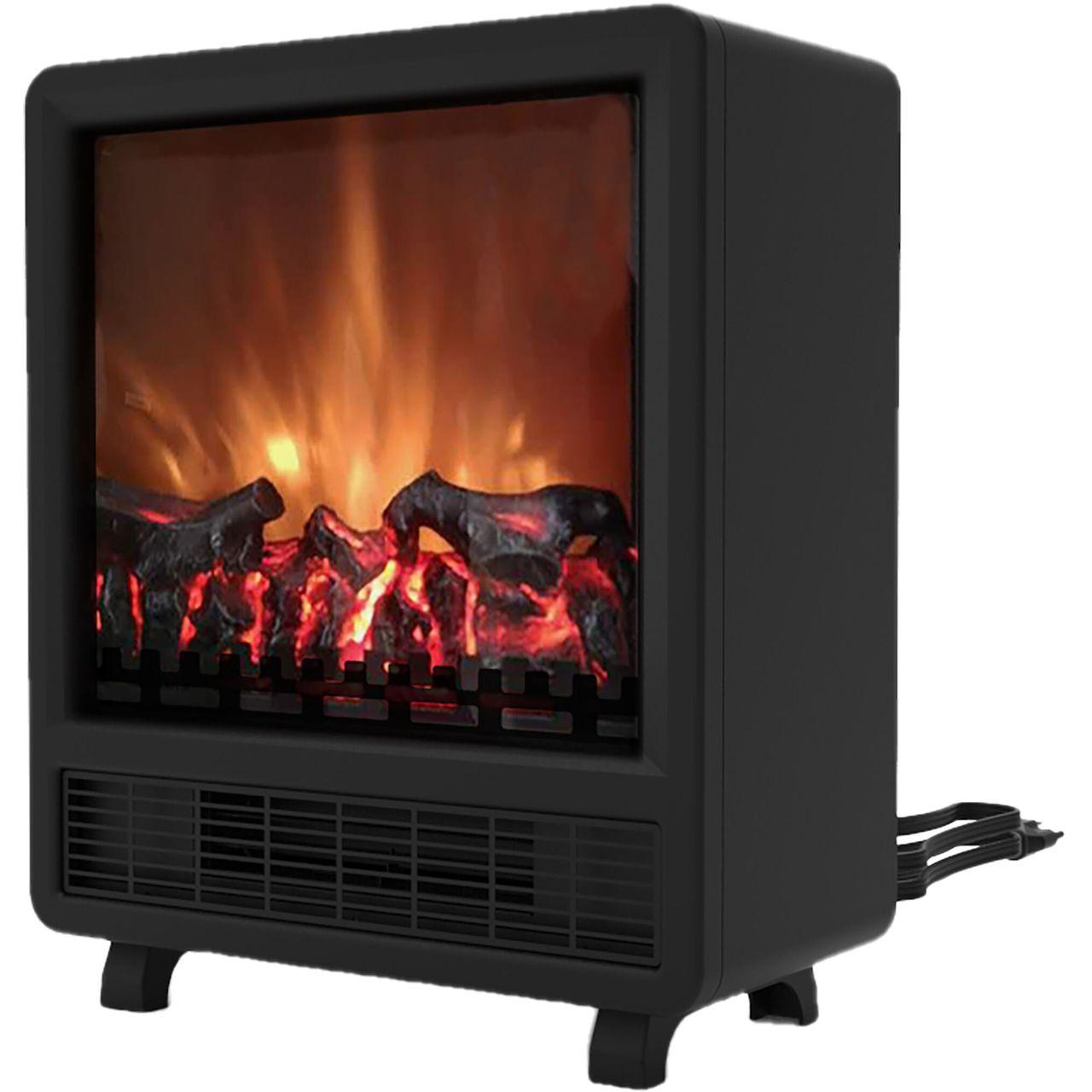"Cambridge 17.8"" Freestanding 4606 BTU Electric Fireplace - Black"