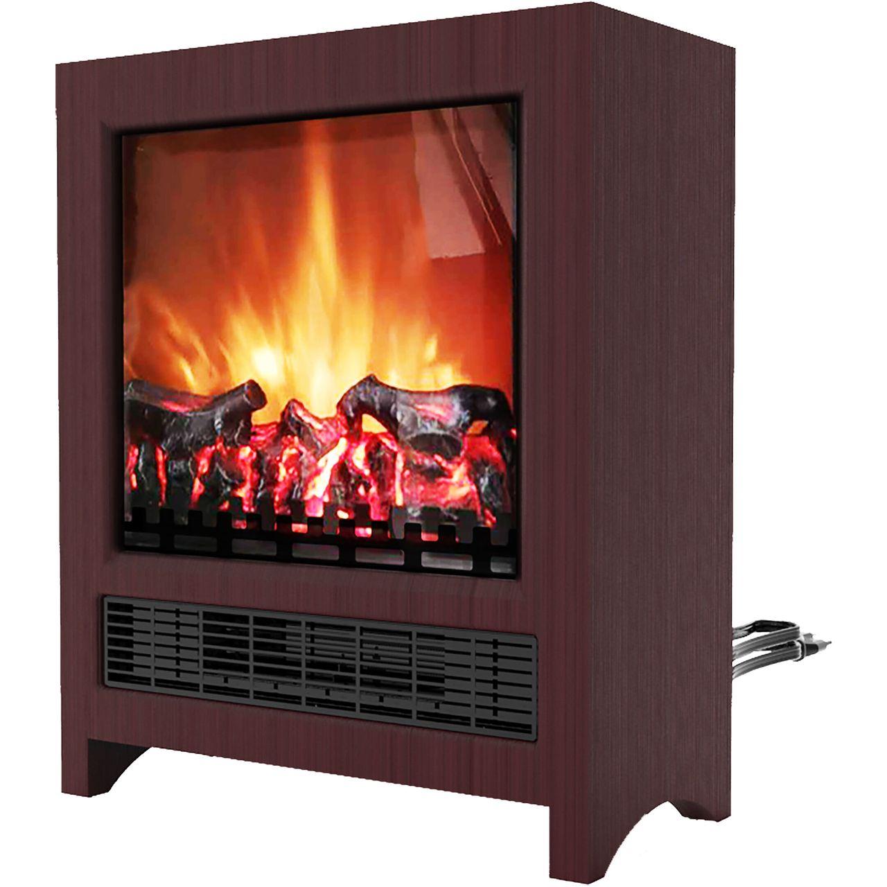 "Cambridge 19"" Freestanding 4606 BTU Electric Fireplace - Mahogany"