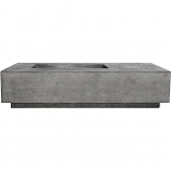 Prism Hardscapes Tavola 5 Fire Table in Pewter - LP