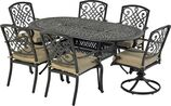 Patio Resort ODTMN7242-BT1 Bridgetown 7-Piece Dining Set