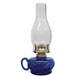 21Century L392ABL Lite Hearted Oil Lamp - Blue