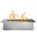 Regal Flame EBS5005 SLIM 8in Bio Ethanol Fireplace Burner Insert - .5 Liter