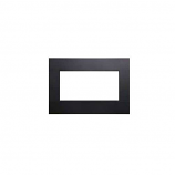 Decorative Metal Surround with Barrier Screen for DVL25 - Matte Black