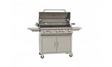 38 Inch 5-Burner Bull BBQ Outdoor Brahma Stainless Steel Propane Gas Grill