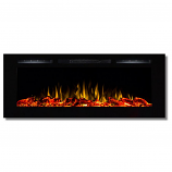 Regal Flame LW2050WL Fusion 50in Wall Mounted Electric Fireplace - Log