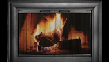 CE3526- Celebrity Anodized Aluminum Fireplace Enclosure