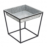 Achla FB-45G3 Short Arne Stand with Galvanized Tray