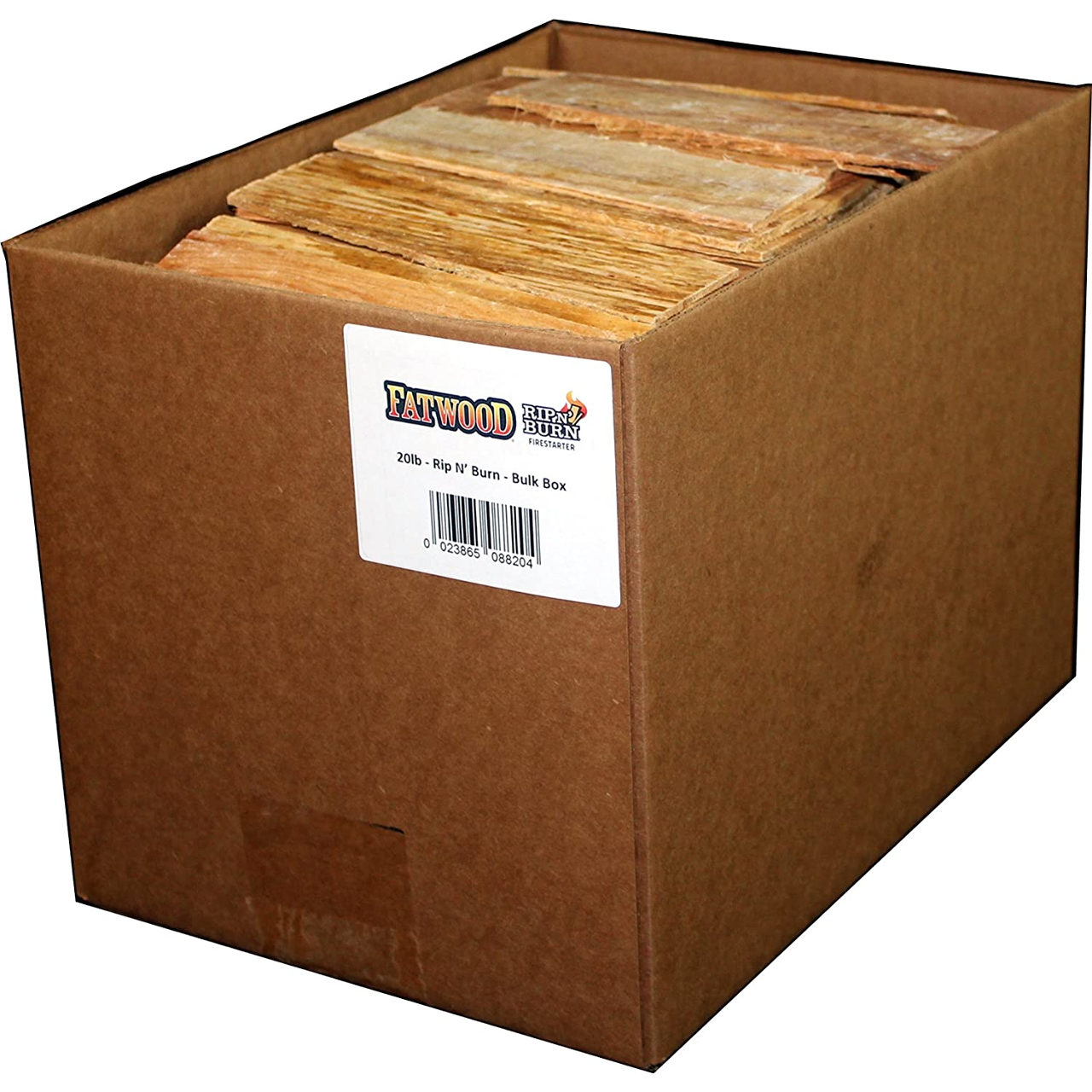 Copperfield 20 lb Fatwood Rip N Burn Bulk Box