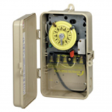 Intermatic T101P201 Time Switch SPST Outdoor Type 3R Plastic 120 VAC
