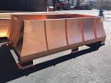 Castilian Sage Copper Chimney Shroud, 34 x 34 x 20 - 20 oz. Copper
