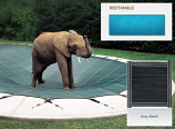 InGround Mesh Gray Safety Cover for 20' x 50' Rectangular Pool