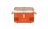 Everdure HBCUBEOUS Cube Charcoal Portable Barbeque Grill - Orange