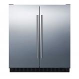 "Summit FFRF3070BSS 30"" Counter Depth Compact Refrigerator"