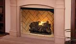 "50"" Vent-Free Firebox with Ivory Split Herringbone Liner"