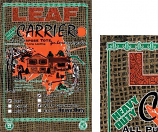 Burlap Leaf and Grass Carriers Model H12G 101075