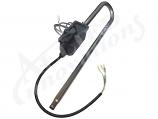 "Heater Assembly: 4.0Kw 240V 6"" X 26"" Lo-Flo Trombone Dual Element"