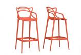 """Dark-Walnut"" Wood and Black Metal Vintage Dining Arm Chair -Set of 2"