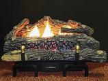 "Buck Stove 30"" Ceramic Series VF Log Set w/ MV Control - NG"