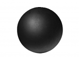 "Real Fyre 4"" Fyre Sphere in Epic Black For Fireplace"