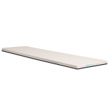 SR Smith 662096122 Frontier III 12-Foot Commercial Diving Board White