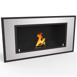 Regal Flame ER8013 Cynergy 36in Ventless Bio Ethanol Wall Mounted Fireplace