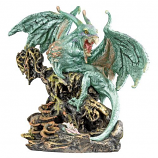"""Scylla The Dragon Demon From The Depths Of The Sea"" Statue"
