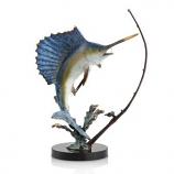 Fighting Sailfish with Tackle