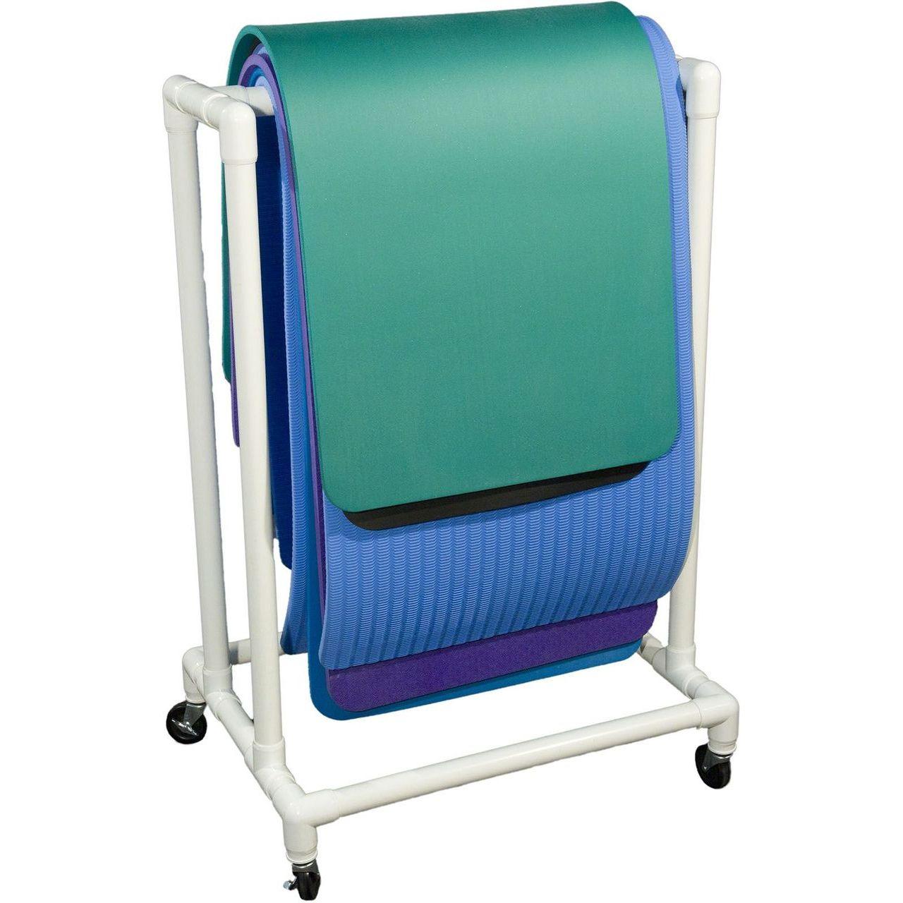 """DuraCart Light Weight Single Mat Cart With 4"""" Wheels"""
