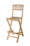 Anderson Teak CHB-010 Altavista Folding Bar Chair