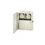 Intermatic T10404R Control Panel Two T104M Time Switches