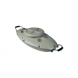 Dunn Rite CK4 CreekKooler Floating Cooler - Tan