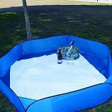 Sandy Bumz Lightweight Outdoor Picnic Ground Cover - Blue