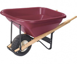 Landscaper's Joy Poly Wheelbarrow