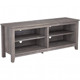 Ryan Rove RR1042 Mission 58in Wood TV Console in Ash Grey
