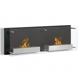 Regal Flame EW9003 Mora 47in Ventless Wall Mounted Bio Ethanol Fireplace