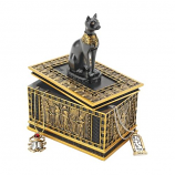Royal Bastet Egyptian Box By Design Toscano