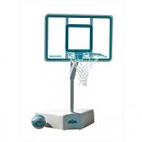 Dunn Rite B6000C Splash and Shoot Portable Pool Basketball Set - Clear