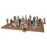 Civil War Sculptural Chess Pieces
