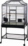 A&E Cage MA3221FL PLATINUM 32x21x61in Elegant Style Flight Bird Cage With Stand