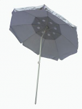 8'x8' Large Silver Field Umbrella