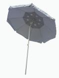 8'x8' Large Silver Field Umbrella