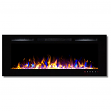 Regal Flame LW2050MC Fusion 50in Wall Mounted Electric Fireplace - MultiColor