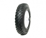 Flat-Free Turf Tread Wheelbarrow Tire