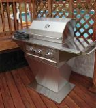 "28"" 3 Burners Grill with Patio Base - Liquid Propane"