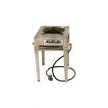3 Ring Single Burner Stainless Steel Utility Stove - Natural Gas